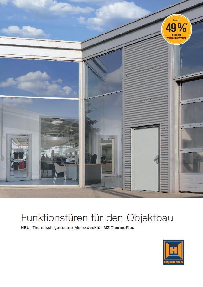 Katalog: Hörmann - Funktionstüren für den Objektbau