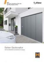 Katalog: Hörmann Seitensectionaltore für private Bauherren