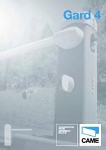 Katalog: Came - Schrankensystem Gard 4